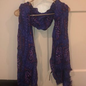 Accessories - Tribal Print Fashion Scarf